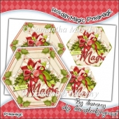 Holiday Magic Hexagon Pyramage