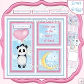 PANDA LOVE 7.5 Quick Layer Card & Insert Kit