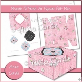 Breath Of Fresh Air Square Gift Box