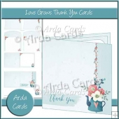 Love Grows Thank You Card