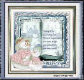 snow women and snow boy book theme