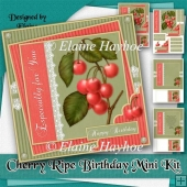 Cherry Ripe Birthday Mini Kit