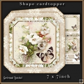 Shape Card Topper 340 Beige
