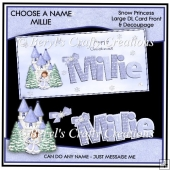 Choose a Name Snow Princess - Millie