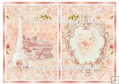 Paris Cottage Florals Card Insert