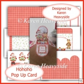 Hohoho Pop Up Box Card