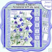 7.5 Alphabet and Age Quick Card Kit Create Any Name