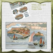 Whitby panel card front and toppers
