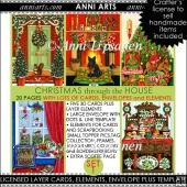 Christmas through the House Combo Set 1