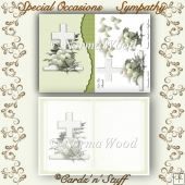Special Occasions - Sympathy Decoupage Card Front