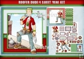 Roofer/DIY Dude 4 Sheet Mini Kit