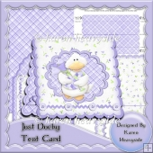 Just Ducky Tent Card