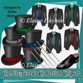 Gent's Tuxedo Collection Clipart