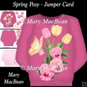 Spring Posy - Jumper Card