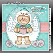 Gingerbread Kisses 2 Mini Kit