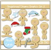 Gingerbread Dreams Graphics Set 3