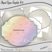 Shaped Topper Template #19