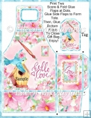 FREE Valentine Hello Love Gift Tote and Tag Set