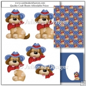 PNC GSD Country Dog Decoupage Set