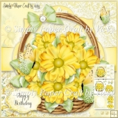 Flower Basket 16