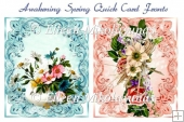 Awakening Spring Pair of Quick Card Fronts