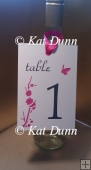 Cherry Blossom Wedding Collection - Table Number Cutting File