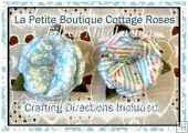 La Petite Boutique Dimensional Cottage Roses Set 1