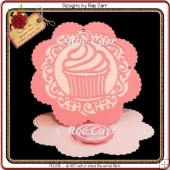 670 Cupcake Easel *Multiple MACHINE Formats*