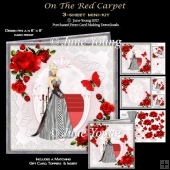 On The Red Carpet - 3-Sheet Mini-Kit