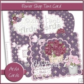 Flower Shop Tent Card