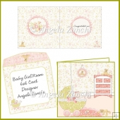 BABY GIRL ROOM 6X6 CARD