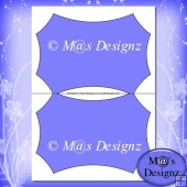 Shaped Card Template 3