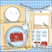 Assembly Required Shadow Box Card