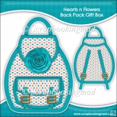 Hearts n Flowers Backpack Gift Box