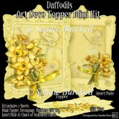 Daffodils Art Deco Topper Mini Kit