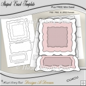 Shaped Easel Template
