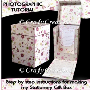 Stationery Gift Box Tutorial