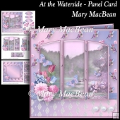 At the Waterside - Panel Card