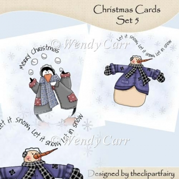 Christmas Cards Set 5(Retiring in July)