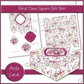 Floral Daze Square Gift Box