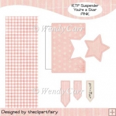 RTP Suspender - You're a Star - PINK(Retiring in August)
