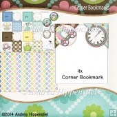 4 Corner Bookmark Fairytale 2