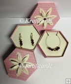 Jewellery Box With Inserts For Earrings Necklaces (SVG & GSD)