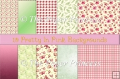 Background papers Pretty in Pink Commercial Use