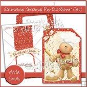 Scrumptious Christmas Pop Out Banner Card