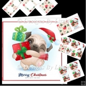 Christmas Pug Mini Kit 2