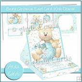 Beary Christmas Easel Card With Drawer