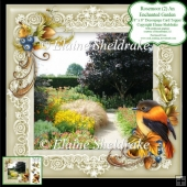 Rosemoor (2) An Enchanted Garden 8x8 Floral Decoupage Card Sheet