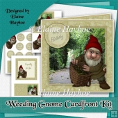 Weeding Gnome Cardfront Kit