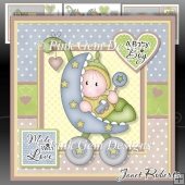Baby Boy Buggy Mini Kit